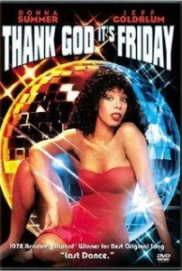 Donna Summer in Thank God it's fridat