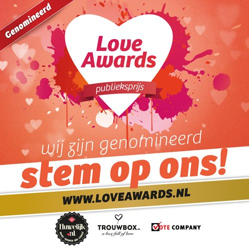 DiscoRoyaal is genomineerd voor The Love Awards