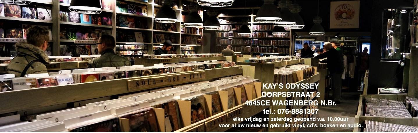 KAY'S ODYSSEY, de grootste platenzaak van Nederland